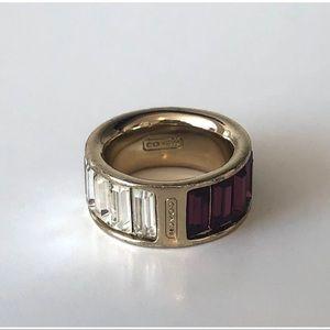 Coach- Purple Ombré Ring